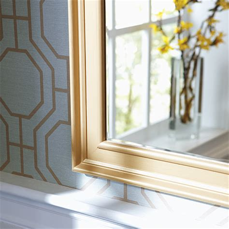 frame bathroom mirror with moulding home dzine bathrooms how to frame a bathroom mirror
