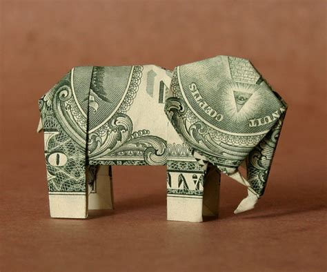 Elephant Money Origami - pin money origami elephant hd on