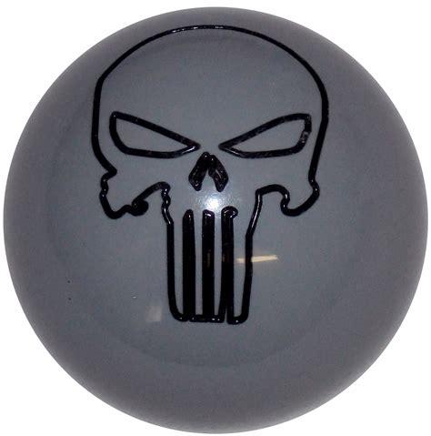 Punisher Shift Knob punisher skull gray shift knob