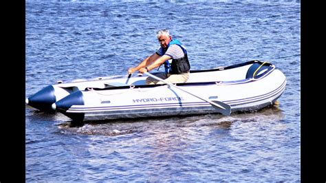 bestway hydro force inflatable boat inflatable boat hydro force sunsaille review youtube