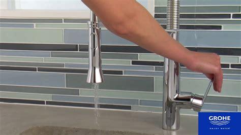 semi professional kitchen faucet grohe k7 semi professional kitchen faucet