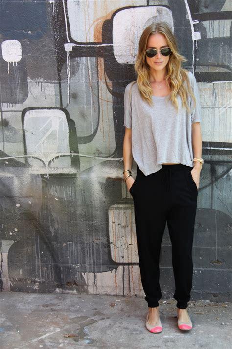 comfortable chic jogger pants for women 2018 fashiongum com