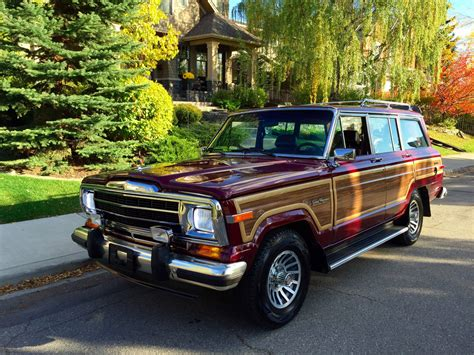 1991 Jeep Grand Wagoneer 1991 Jeep Sj Grand Wagoneer Is Up For Grabs On Bring A