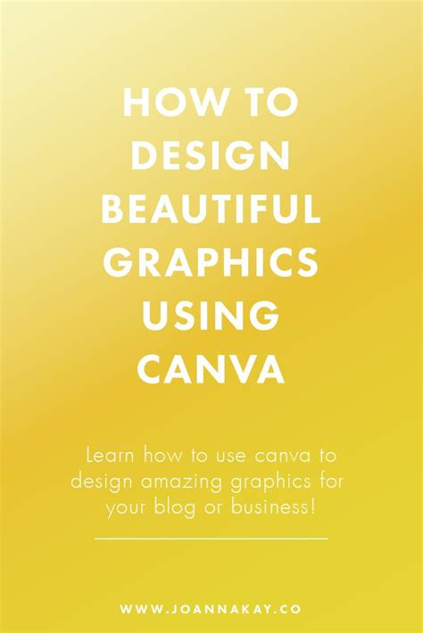 canva guide how to design beautiful graphics using canva a complete