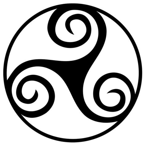 imagenes de simbolos wicca mundo wicca triqueta y triskel