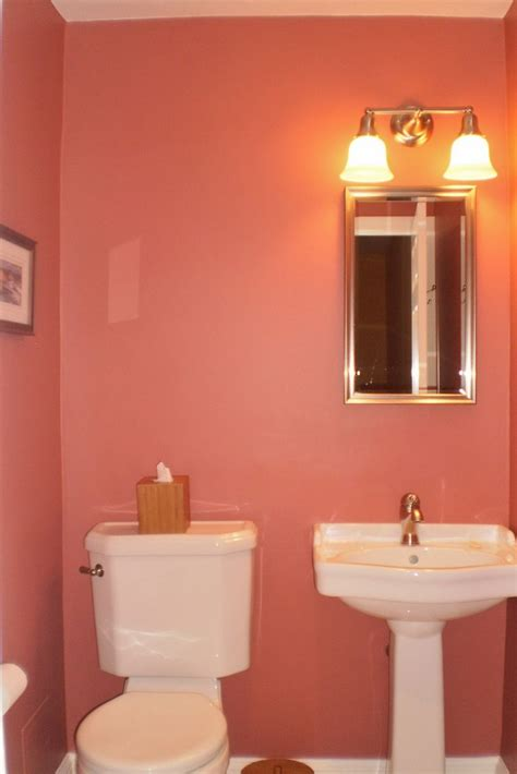 small bathroom wall color ideas pink color of small bathroom ideas with wall light above