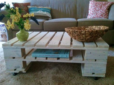 Easy Pallet Coffee Table 8 Diy Pallet Coffee Tables