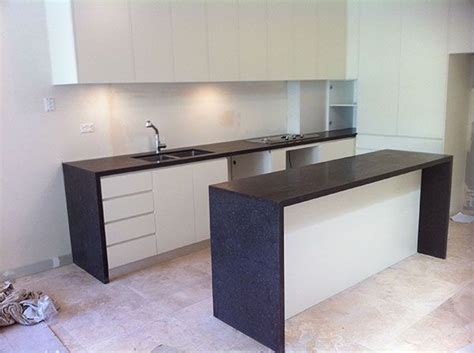 waterfall stone bench tops top 28 waterfall bench tops granite planet in mordialloc melbourne vic kitchen