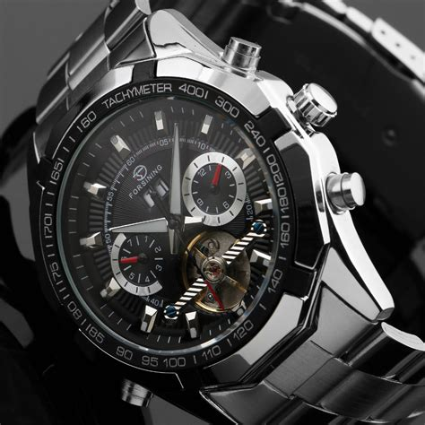 Jam Tangan Murah Ess Luxury Automatic Mechanical Wm299 ess jam tangan mechanical wm303 black jakartanotebook