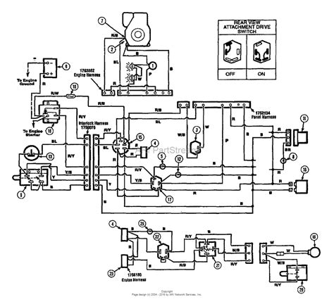briggs and stratton mower wiring diagram craftsman