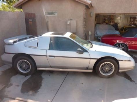 where to buy car manuals 1986 pontiac fiero regenerative braking buy used 1986 pontiac fiero gt manual coupe 3 4l 6sp engine swap kit 103k orig miles in mesa