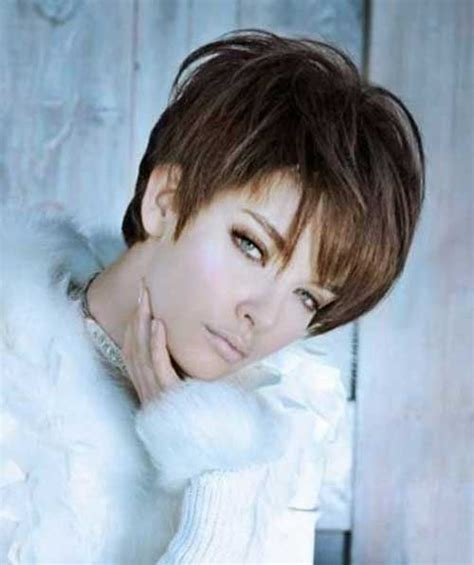 short pixie styles with longs fringes or bangs 20 short hair with fringe short hairstyles 2017 2018