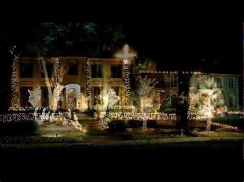 highland park texas christmas lights youtube