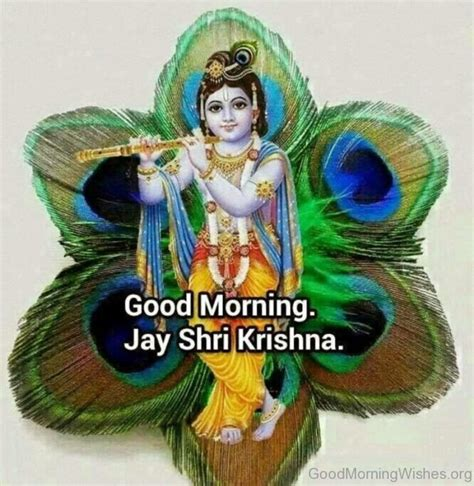 krishna images good morning 6 good morning wishes in hindi god