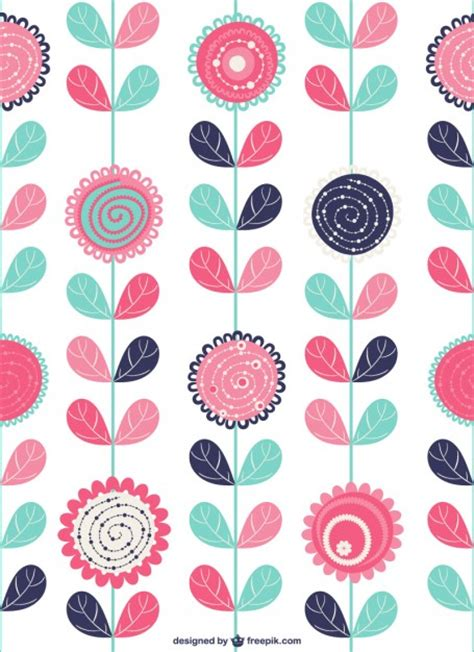 imagenes con vectores fondo con flores decorativas descargar vectores gratis