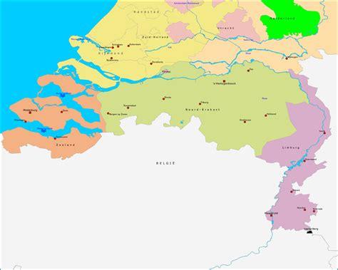 Or Nederland Topografie Zuid Nederland Www Topomania Net