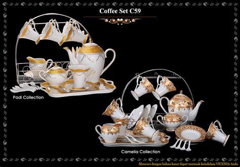 Tea Set C96 Vicenza By Ama02olshop coffe tea set dapur cantik