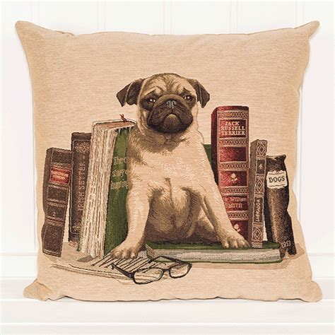 pug bookends bookends pug cushion pug puffin