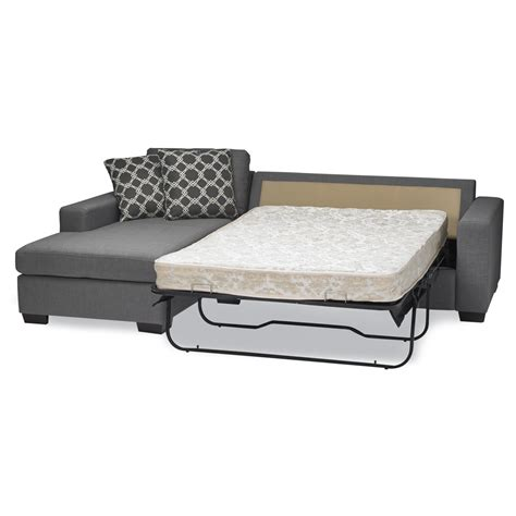 Sectional With Sleeper Sofa Sofas To Go Mimi Sleeper Sectional Reviews Wayfair