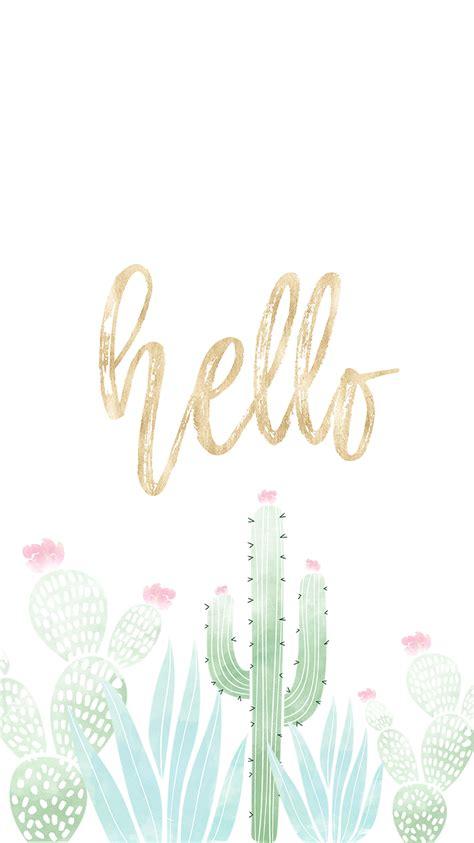 cactus backgrounds ideas  pinterest cute