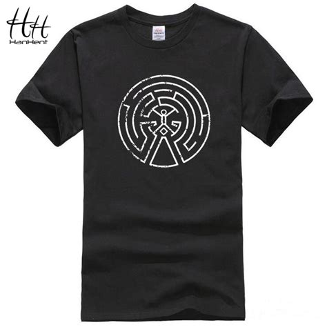 T Shirt Kaos Cotton Combed 30s Computer Evolution Anime buy hanhent westworld maze cotton t shirts 2017 new arrival sleeve o neck west world