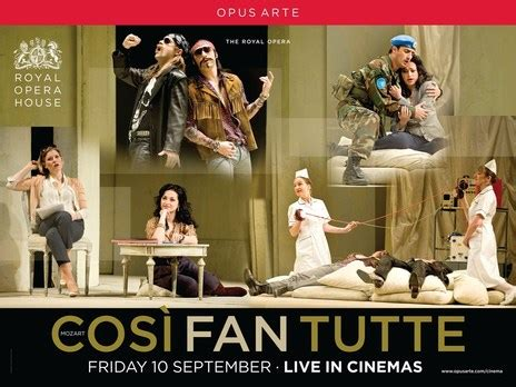 Empire Cinemas Film Synopsis Cosi Fan Tutte Broadcast Live