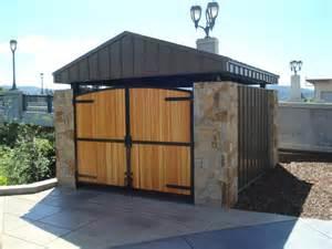 dumpster enclosure trash dumpster pads the building code forum