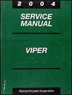 auto repair manual free download 2004 dodge viper head up display 2004 dodge viper repair shop manual original