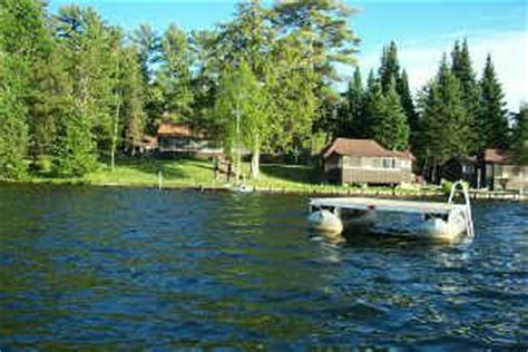 fishing boat rental boulder junction wi evergreen lodge wisconsin vacation lake cabin rentals in