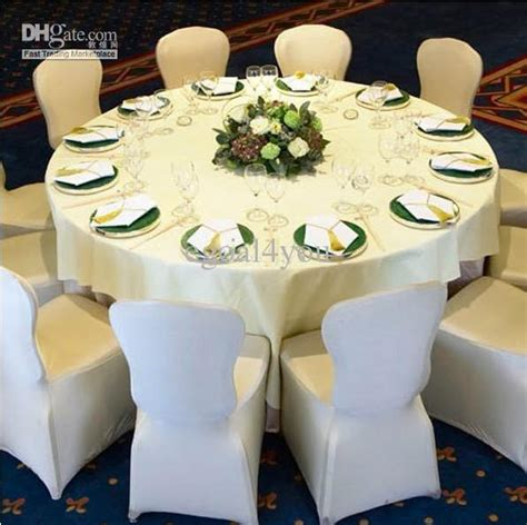 2017 lycra spandex round top square top chair covers