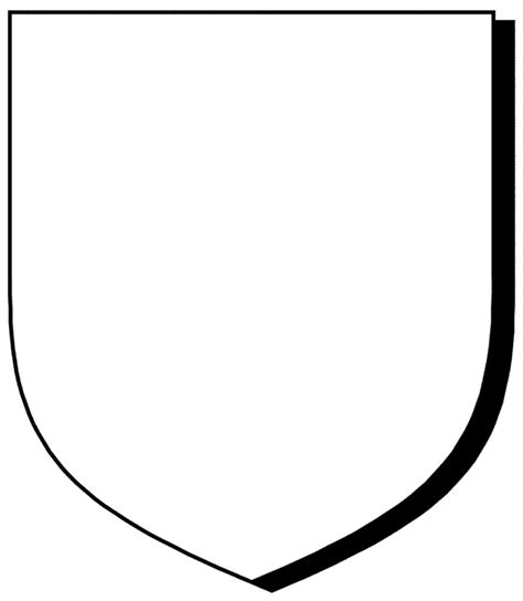 school shield template blank crest shield template our home school