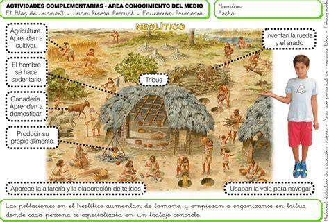 imagenes de la era neolitica fichas la prehistoria para nic3b1os 3 jpg 1678 215 1133