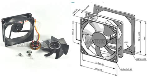 high cfm case fan dc fan high cfm 80mm x 25mm 8025 5v 24v computer case dc