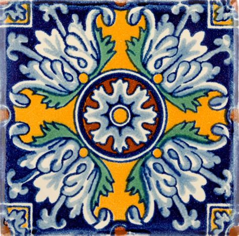 Mexican Handcrafted Tile - mexican tile ceramic high fired tile for kitchen