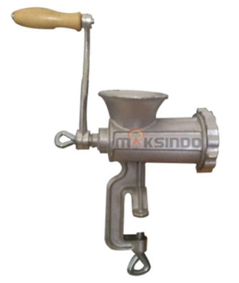 Alat Pengisi Sosis Mesin Pencetak Sosis Manual Bahan Stainless Ste jual alat giling daging manual di semarang toko mesin