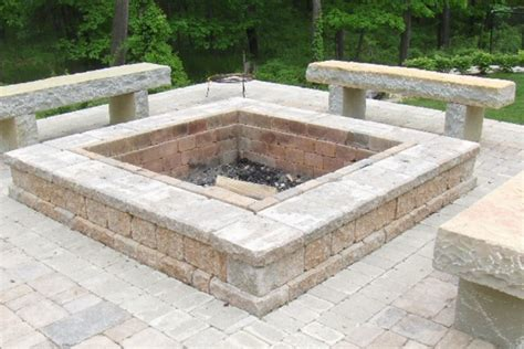 Limestone Patio Pavers Brick Pit Casual Cottage