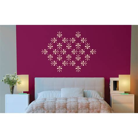 wallpaper design asian paint stardust asian paints wall fashion stencil buy online