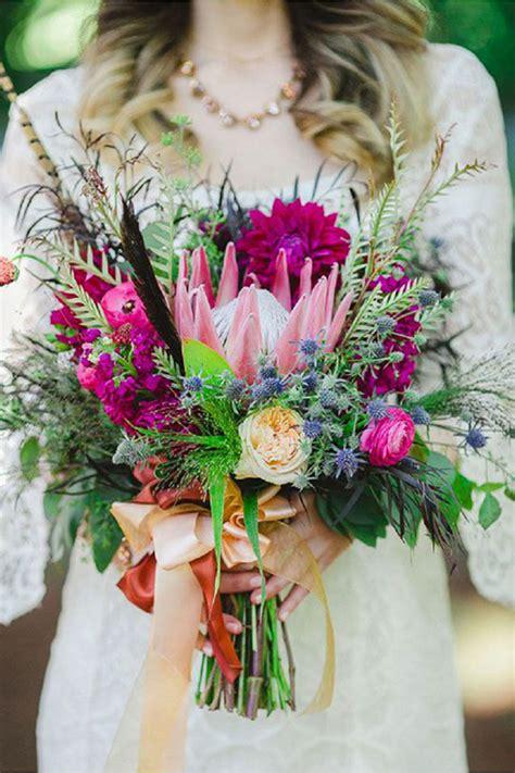 fiori di sposa bouquet da sposa 2016 idee e tendenze
