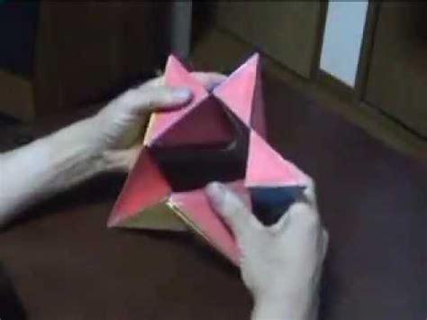 origami transformer tutorial how to make a hexagonal kaleidocycle doovi