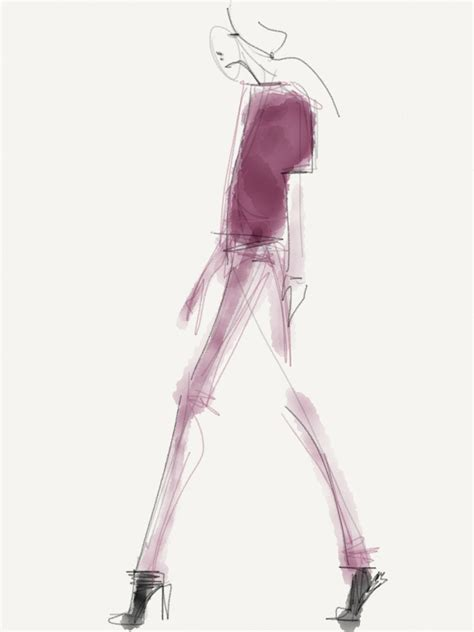fashion illustration toronto danielle meder finalfashion illustrations at fashion week flare