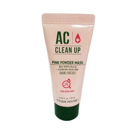 Ac Clean Up Toner 5ml Etude Hous etude house sle ac clean up pink powder mask sle 20ml