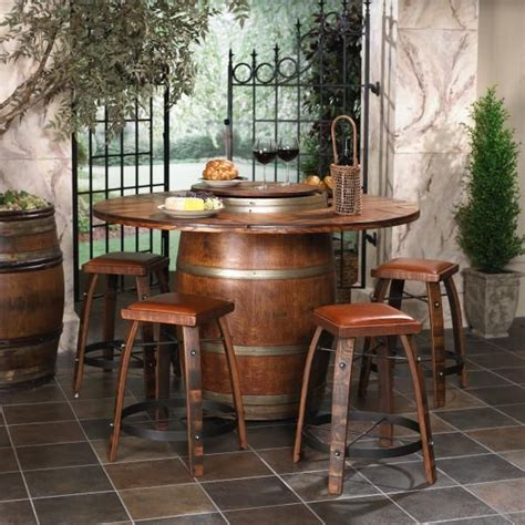 Wine Barrel Patio Table 17 Best Images About Diy Wine Barrels On Wine Cellar Design Wine Barrels And Barrel Bar