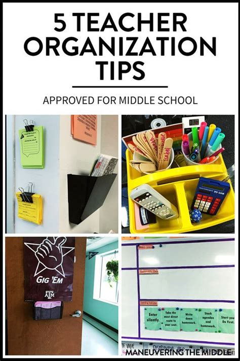 organization tips for school 5 teacher organization tips for middle school teaching
