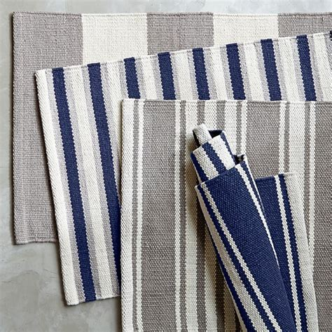 William Sonoma Kitchen Rugs Riviera Stripe Kitchen Rug Williams Sonoma