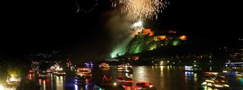 The Place In Flames Koblenz Historic Highlights Of Germany