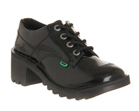 Kickers Classic Casual kicker s kickers leather kick hi boots in black