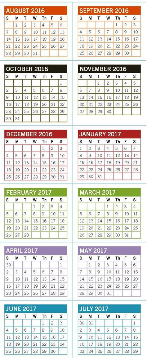 Mba Calendar Unc by Academic Calendar Of Carolina At