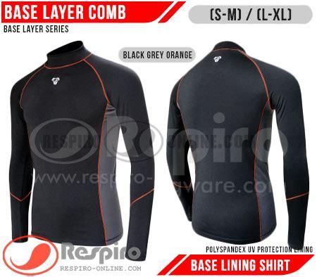 Kaos Onepiece Topi Black Spandex Diskon respiro base layer variasi inner lining 3 warna