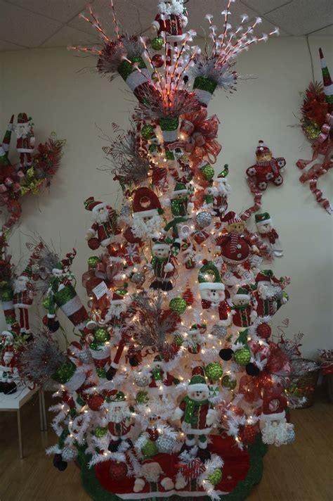 decoracion de pino navideño blanco arbol de navidad blanco decorado rbol de navidad moderno