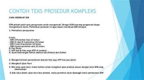 teks prosedur kompleks membuat visa power point teks prosedur kompleks
